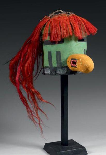Masque de Kachina TASAF ou NAVAJO Kachina...