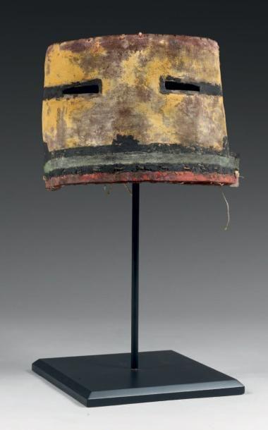 Rare masque facial de Kachina, TAKUS MANA,...