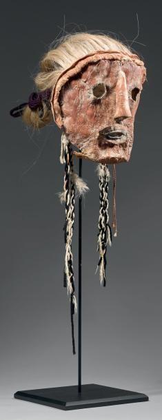 HAPOTA - Rare masque Katsina Hapota (Antes,...