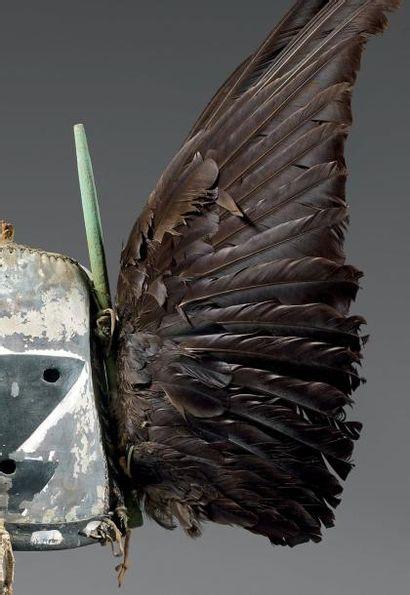 ANGWUSHAHAY´I Très ancien masque de la Troisième Mesa Angwushahay´i (Antes 210)...