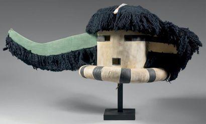 SAIYATASHA - Très important masque Katsina...