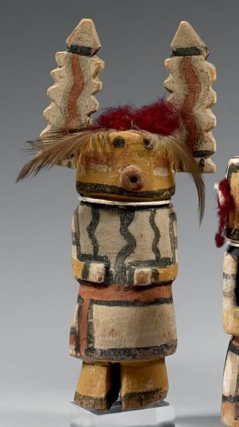 Kachina aux oreilles dentelées Hopi, Arizona,...