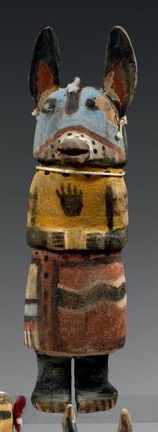 Kachina aux oreilles de loup Hopi, Arizona,...