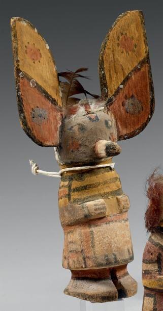 Kachina aux longues oreilles Hopi, Arizona,...