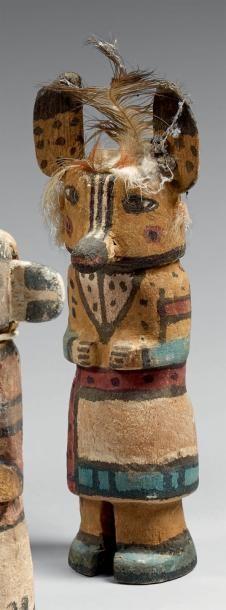 Kachina aux pointillés Hopi, Arizona, U.S.A....