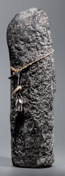Exceptionnelle et rarissime idole Tiponi Hopi (pré -hopi), Arizona, U.S.A Pierre,...