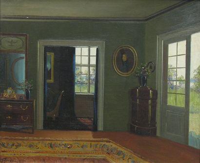 Ecole danoise fin du XIXème siècle
