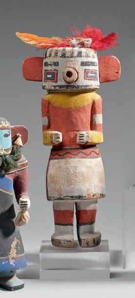 KACHINA Rugan danseur maïs Hopi, Arizona,...
