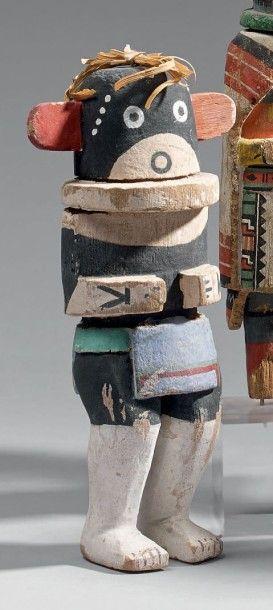 KACHINA Sivuk'china Coton wood, pigments,...