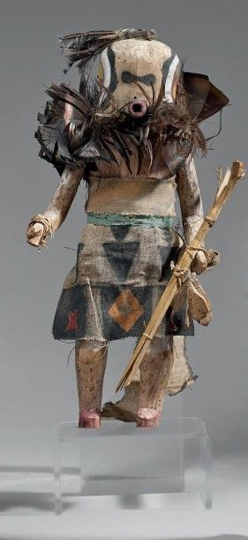 KACHINA SIPIKINE Zuni, Nouveau Mexique, U.S.A....