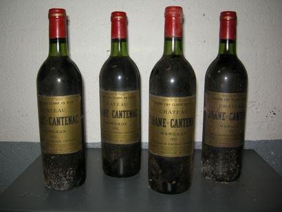 VIN012 - 4 CHATEAU BRANE-CANTENAC, GCC2 Margaux,...