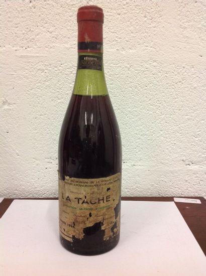 VIN023 - 1 LA TACHE, 5 cm, H. de Villaine,...