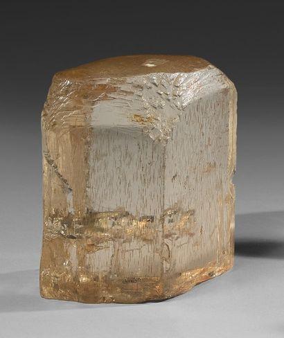 Un élégant cristal gemme de TOPAZE, bi-terminé,...