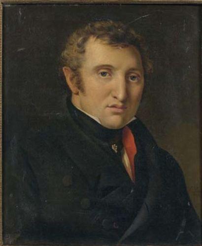 Ecole FRANCAISE, 1825, D. VINCENT