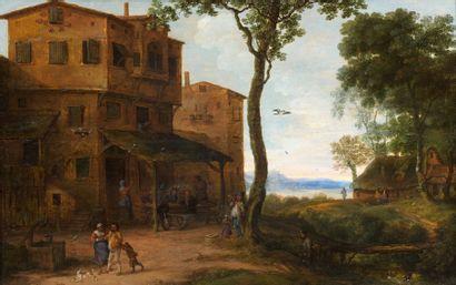 Attribué à Pieter GYSELS (1621-1690)