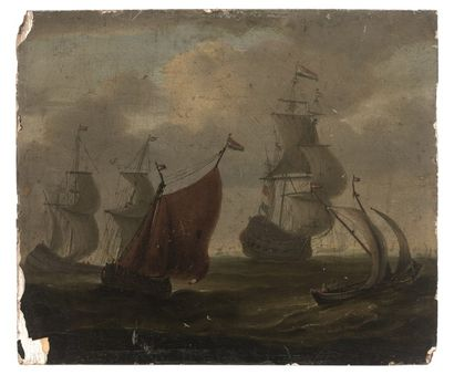 Ecole HOLLANDAISE, XVIIème siècle