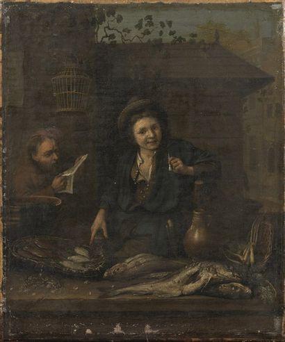 Ecole HOLLANDAISE vers 1680, suiveur de Brekelenkam