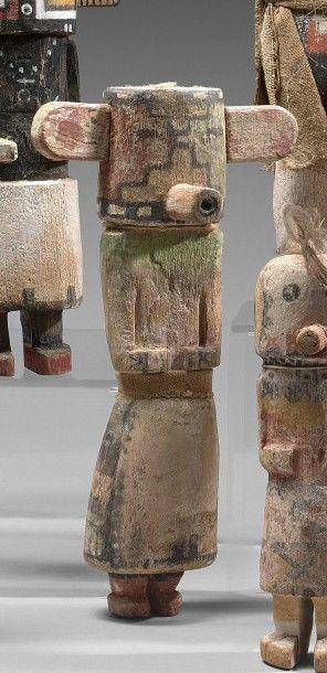 KACHINA NUVAK ou NEIGE Cottonwood, pigments,...