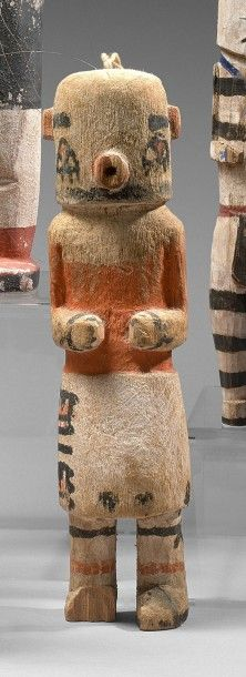 KACHINA HEHEYA Cottonwood, pigments Hopi,...