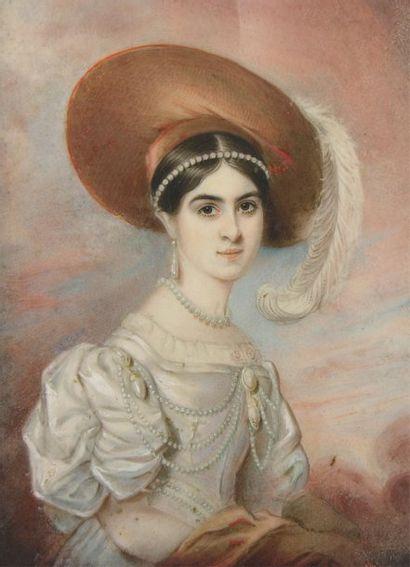 ECOLE ANGLAISE vers 1830