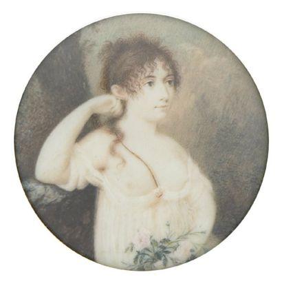 ECOLE ALLEMANDE, vers 1800