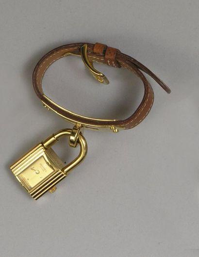 BRACELET MONTRE de dame, modèle « cadenas...