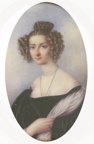 Emil SCHMALZ 1835, d'après Madame de WATTEVILLE