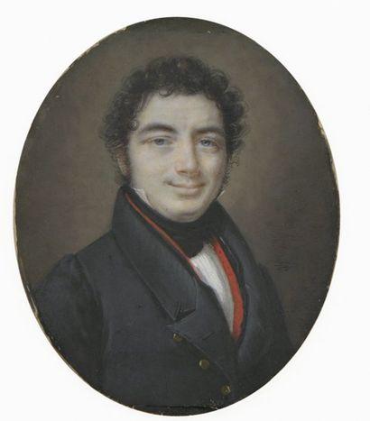 Attribué à Joseph DUBASTY (actif à Paris début XIX° siècle), vers 1815