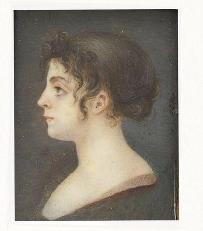ECOLE FRANÇAISE VERS 1815