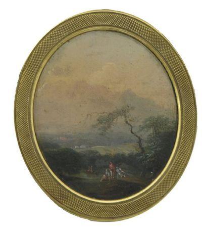 ECOLE FRANÇAISE, XVIII° siècle