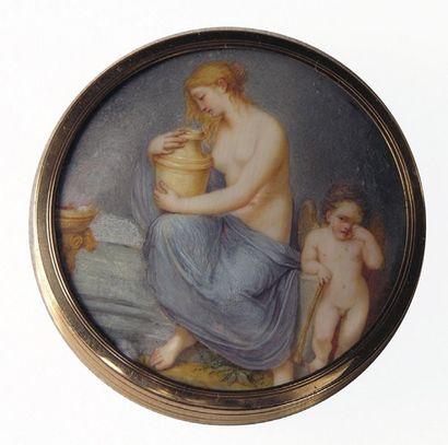 ECOLE NEO-CLASSIQUE, vers 1800