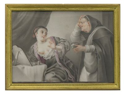 ECOLE de Carl Gustav KLINGSTEDT (Riga 1657 - Paris 1734)