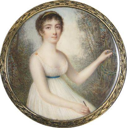 ECOLE FRANÇAISE vers 1795