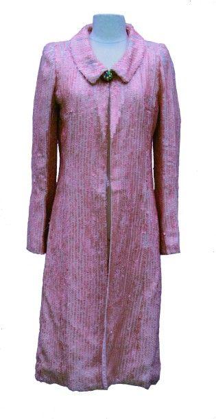 CARVEN Paris, Haute Couture: Manteau à paillettes...