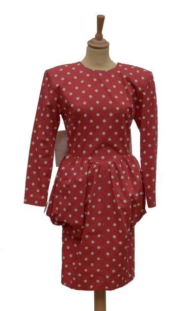 BOUTIQUE BALENCIAGA: Robe courte en coton...