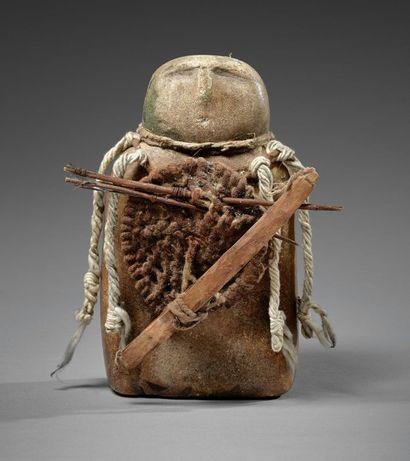 Rare IDOLE au BOUCLIER Anasazi, civilisation...