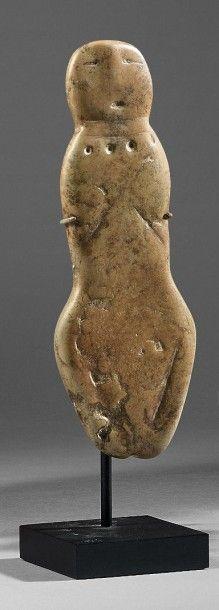 Petite IDOLE anthropomorphe Anasazi, civilisation...