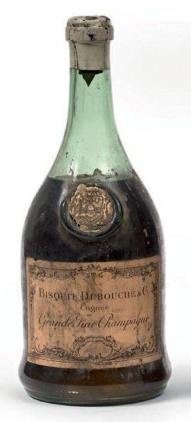 1 BISQUIT DUBOUCHE, Cognac Grande Fine Champagne,...