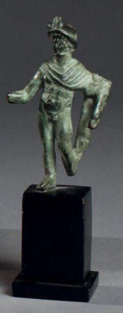 STATUETTE votive représentant le dieu Mercure...