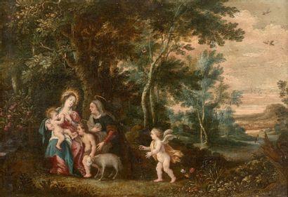 Attribué à GEEX DE LA VALLEE (Avant 1605 - Après 1667)