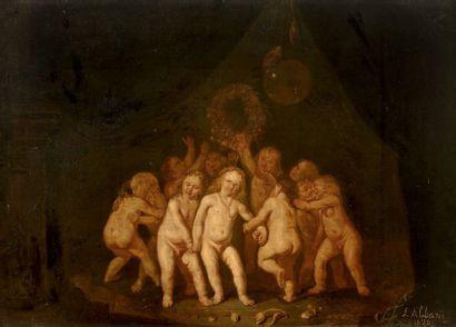 ECOLE HOLLANDAISE vers 1630, entourage de Nicolas Knuppfer