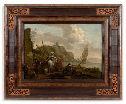 ECOLE HOLLANDAISE vers 1820, suiveur de Berchem