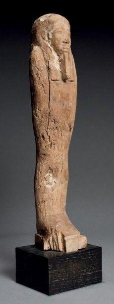 Grande STATUETTE de Ptah-Sokar Osiris momiforme...