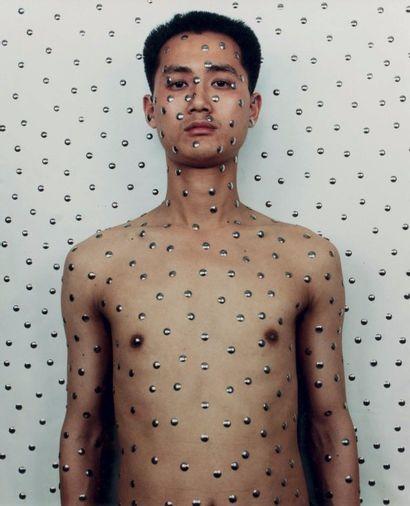 QIU ZHIJIE (Né en 1969)  Tattoo 1, 1994  C-print...