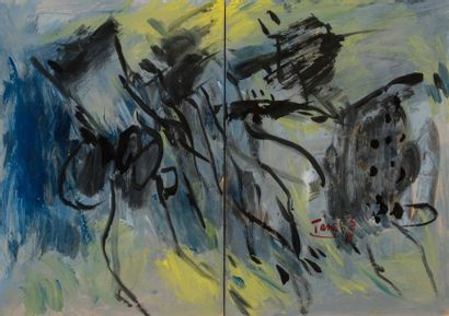 T'ANG HAYWEN (1927-1991) Composition, vers...