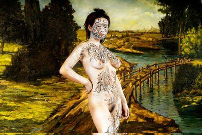 HUANG Yan (Né en 1966)  Dismantle Landscape...
