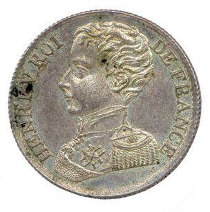 Henri V Duc de Bordeaux Comte de Chambord...