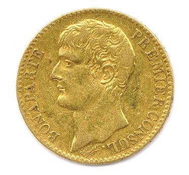 BONAPARTE Premier Consul 40 Francs or an...
