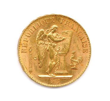 IIIe RÉPUBLIQUE 20 Francs or (Génie) 1897...
