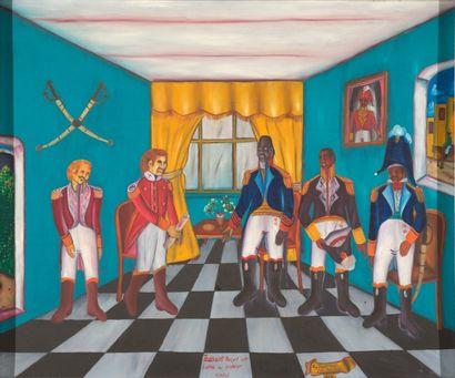 A. DUVERNOIS  Toussaint reçoit une lettre...
